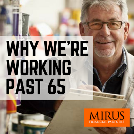 Retirement Age Working Past 65